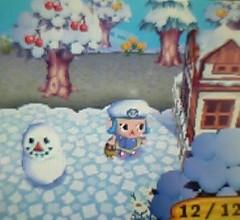 すっかり雪景色